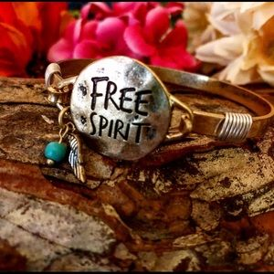 ✌️Free Spirit bangle,Gypsy bracelet,Hippie boho